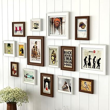 Marco de fotos Home @ Wall Conjuntos de marcos de fotos para la ...