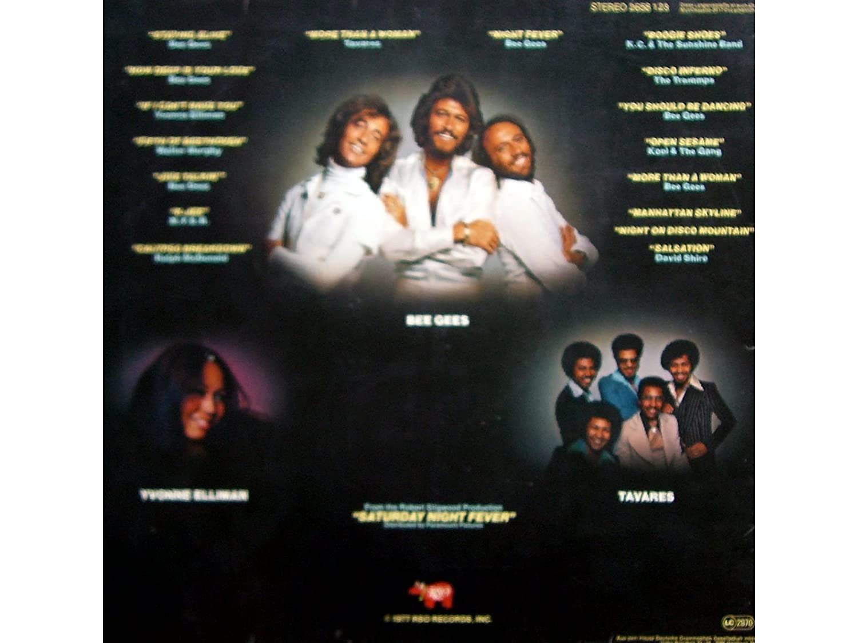 SATURDAY NIGHT FEVER / THE ORIGINAL MOVIE SOUND TRACK / 2 ALBUM SET includes NEW BEE GEES HITS / 1977 / Klapp-Bildhülle mit ORIGINAL illustrierter ...