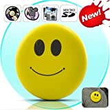 Oumeiou Super Cute Mini Smiley Face DVR Camera Mini Hidden Spy Cam Recorder Camcorder Sports HD Car DVR