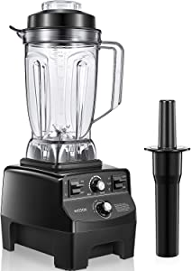 Professional Countertop Blender, Food Processor Kitchen Blender for Shakes and Smoothies, Smoothie Maker Mixer with 70 oz BPA-Free Container, Built-in Pulse for Crushing Ice and Frozen Fruit, 1450W, AICOOK [Updated Version]
