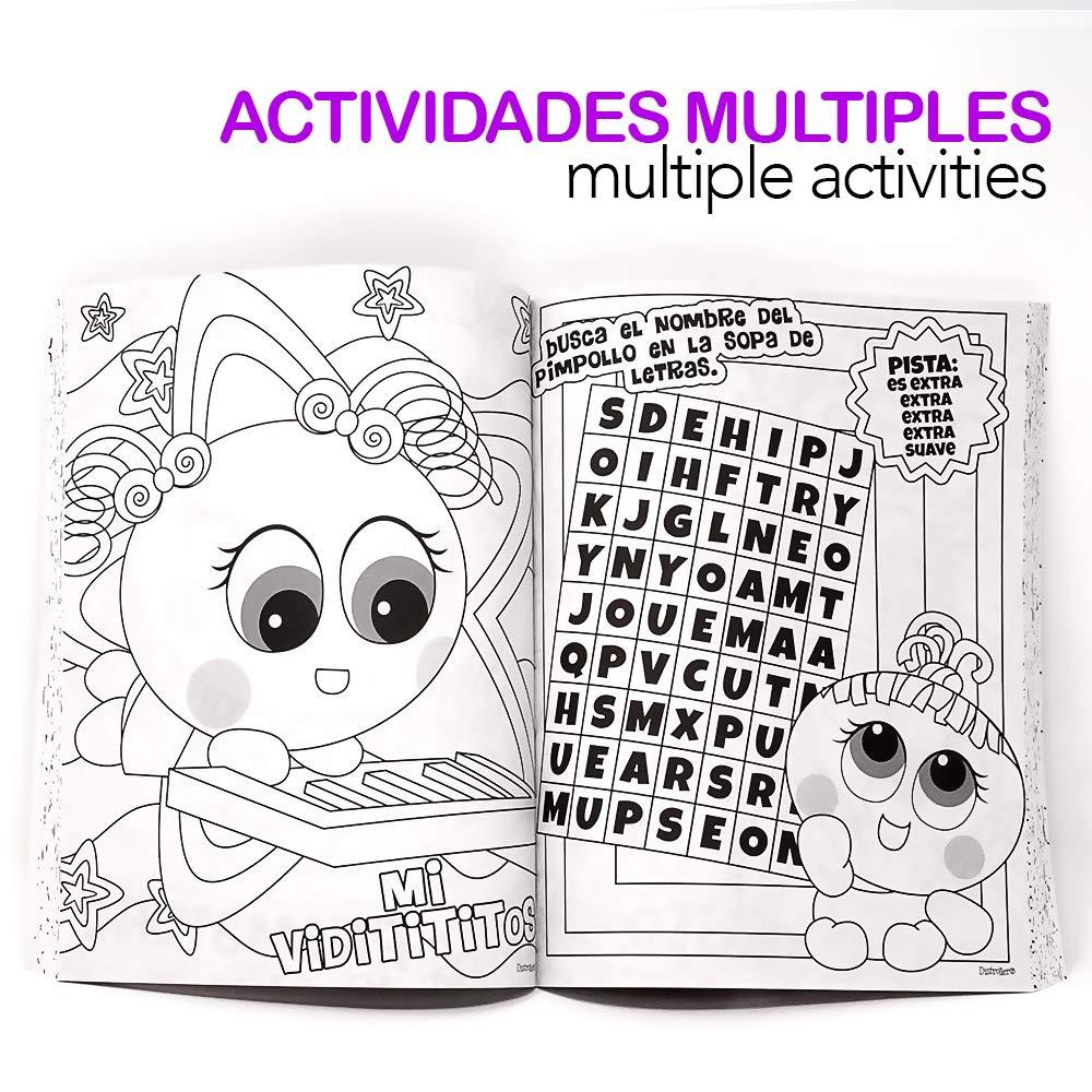 Distroller Ksi Meritos Libro Neo Coloreador Interactivo Con