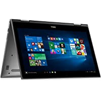 Premium 2018 Flagship Dell Inspiron 15 5000 5579 2 in 1 FHD IPS Touchscreen Laptop (Intel Core i7-8550U, Backlit Keyboard, Intel HD, WiFi, Bluetooth, Windows 10) Upgrade up to 16GB RAM and 1TB SSD