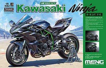 Amazon.com: MNGMT001 1:9 Meng Kawasaki Ninja H2R Motorcyle ...