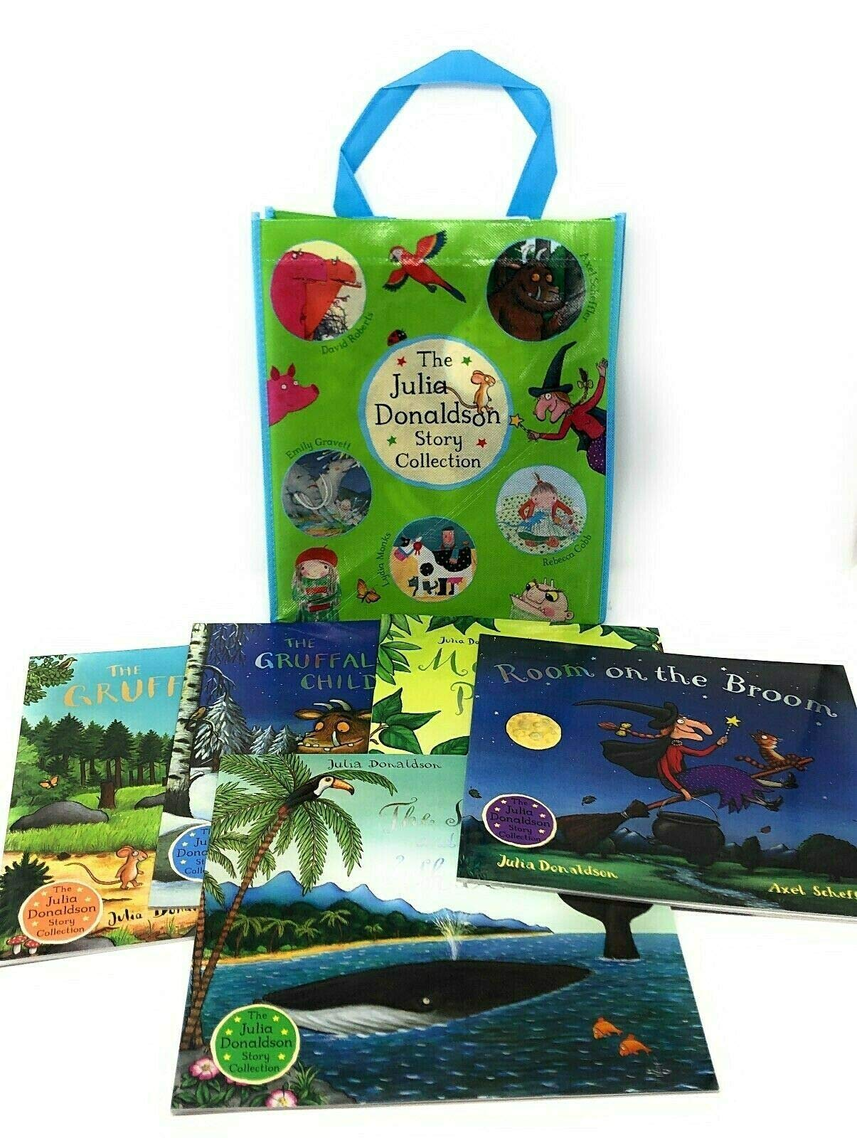 Julia Donaldson Books - Set of 10 Various Books Paperback – 2010