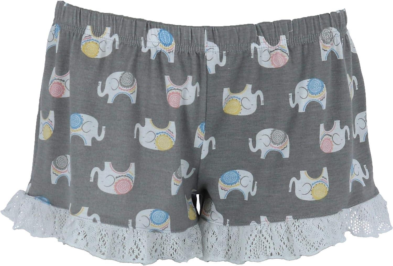 PJ Couture Women/'s Reindeer Black Fleece Pajamas