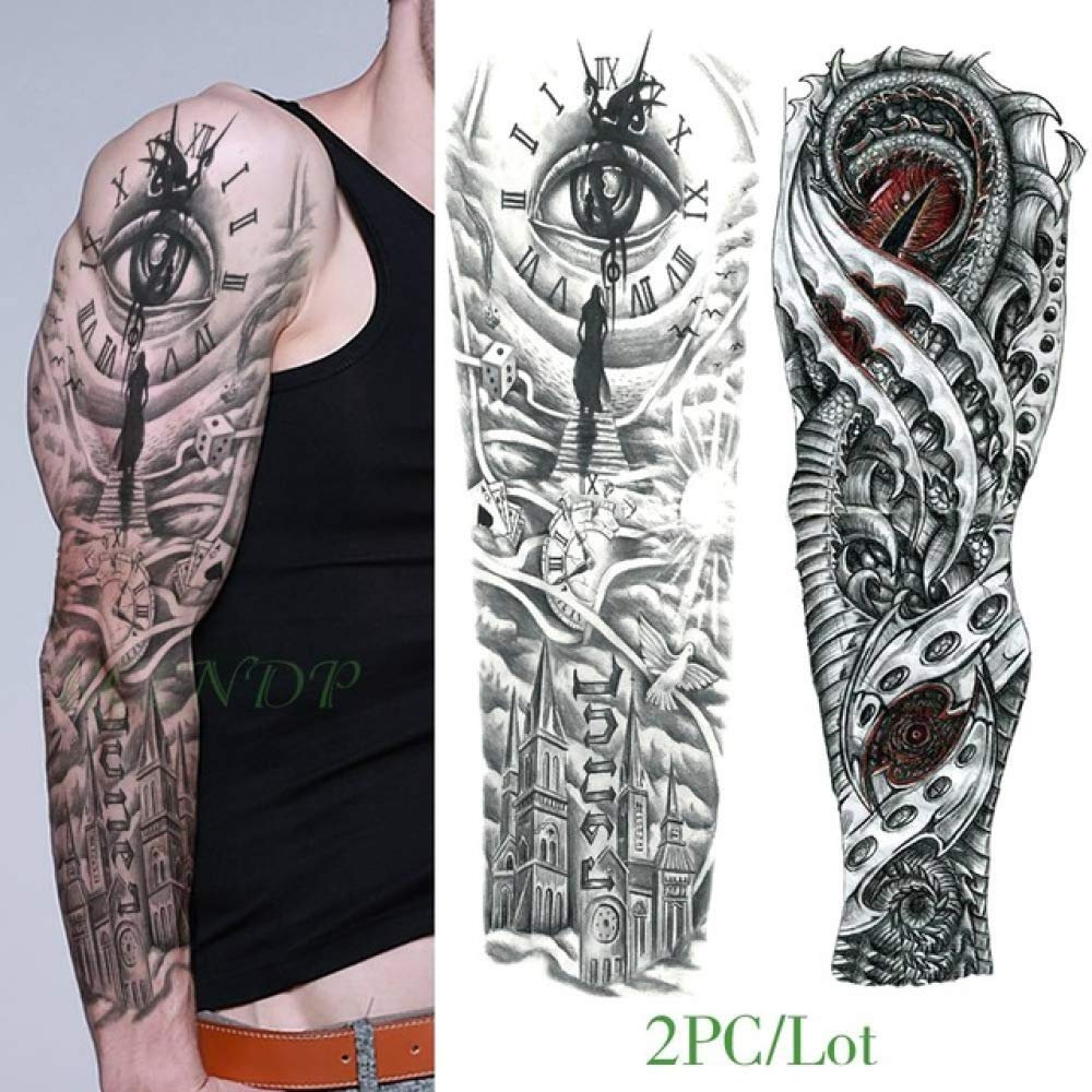 3pcs-Impermeable Etiqueta Engomada del Tatuaje Temporal Ojo ...