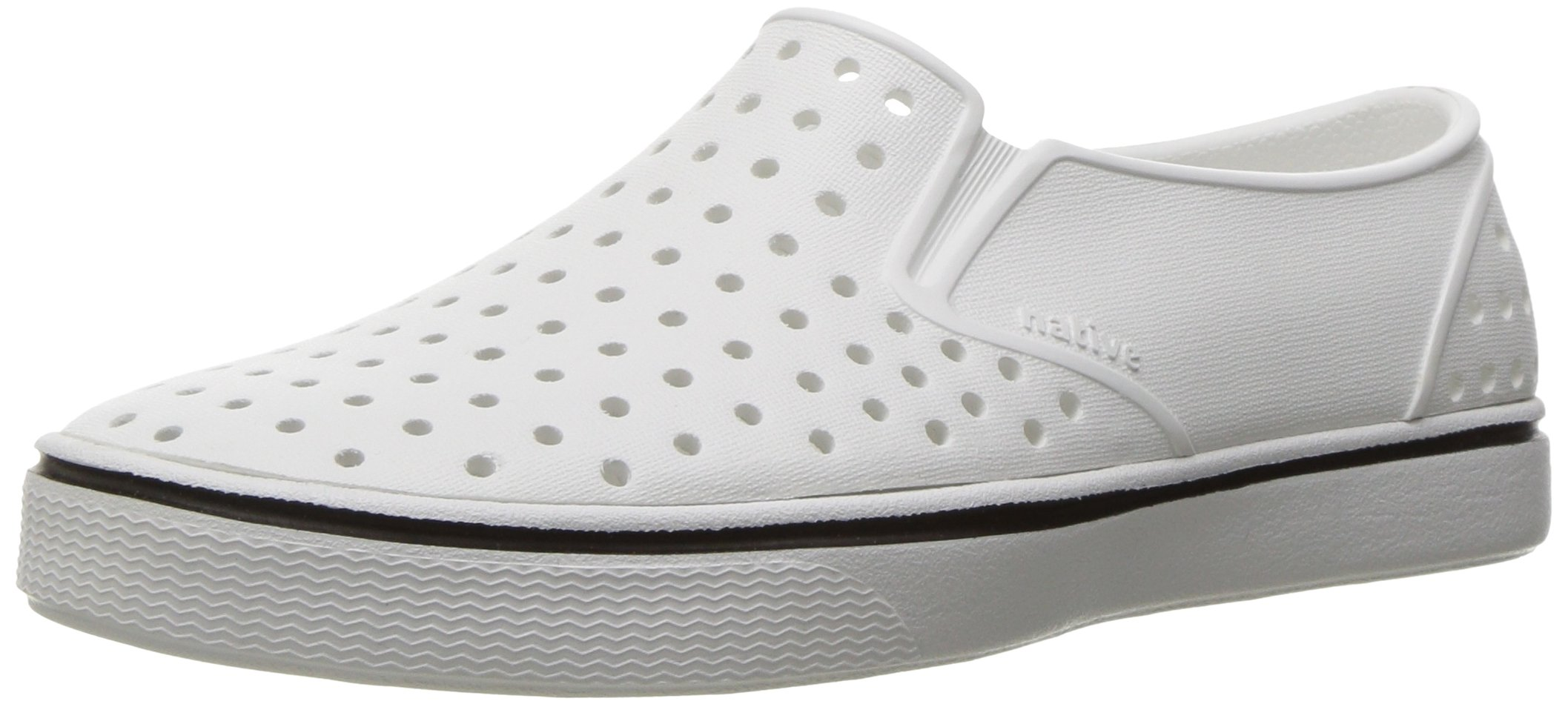 Native Kids unisex-kids Miles Water Shoe,shell white/shell white,6 Medium US Big Kid