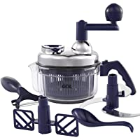 GDL Food Chopper, Manual Food Processor Mincer for Onions, Salad, Nuts, Meat, Garlic, Ice, etc