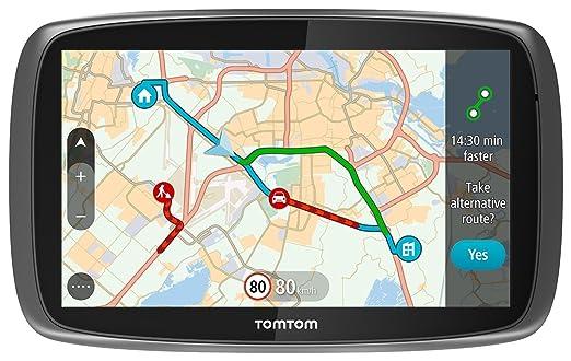 """72 opinioni per TomTom GO 6100 World GPS per Auto 6"""" con Segnalazione Traffico, Tutor e"""