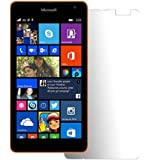 Generic Pack Of 2 Microsoft Lumia 535 Clear Screen Scratch Guard Shield Protector