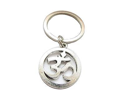 Om, Ohm, AUM, sánscrito símbolo, Llavero, Cadena de Clave ...
