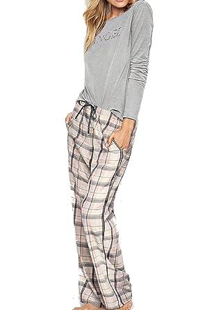 d774497be3dc Image Unavailable. Image not available for. Color: Victoria's Secret  Women's 2 Piece Pajama Set ...
