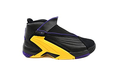 b713a928e76 Jordan Nike Jumpman Swift Basketball Shoes Black Court Purple Amarillo  Yellow AT2555 007 (11.5)