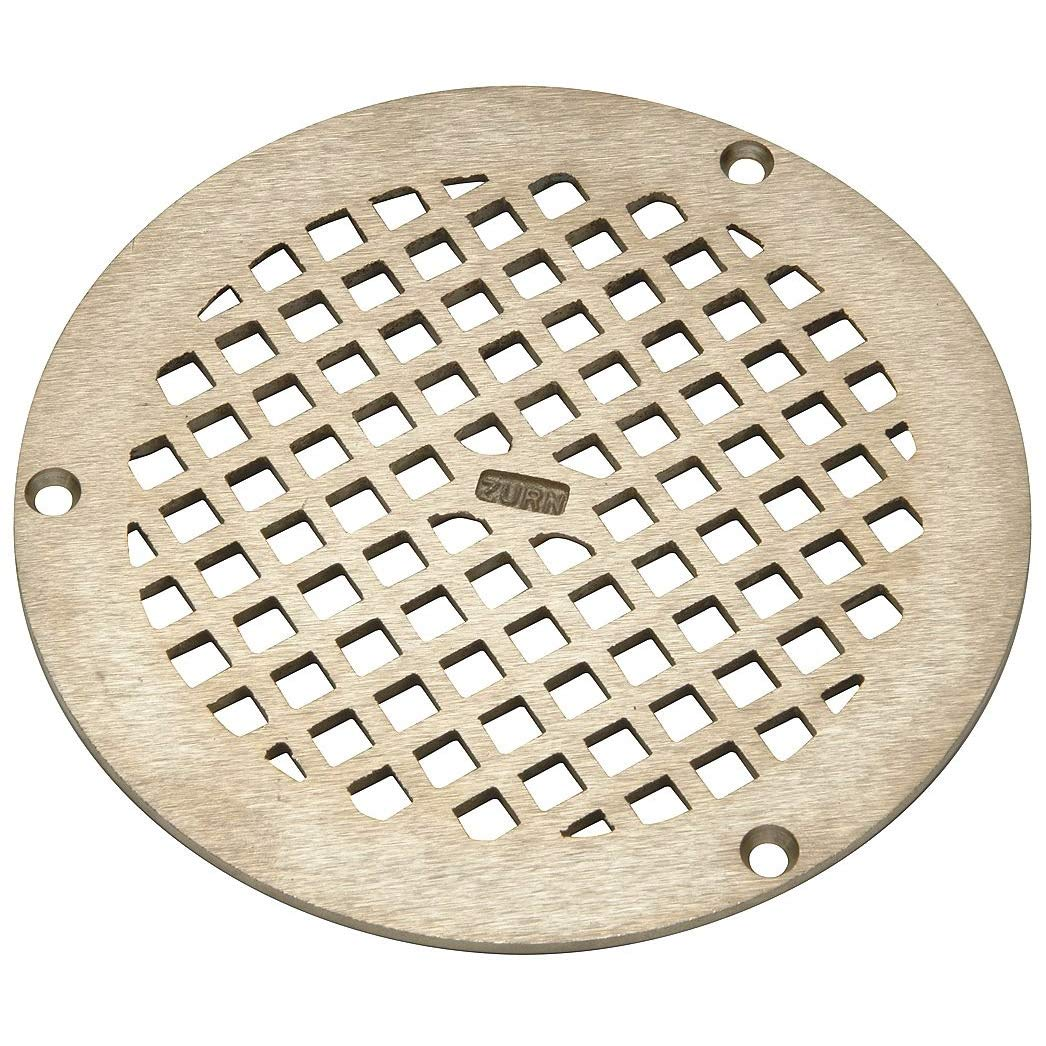 Replacement Grate, Round, Dia 6 In