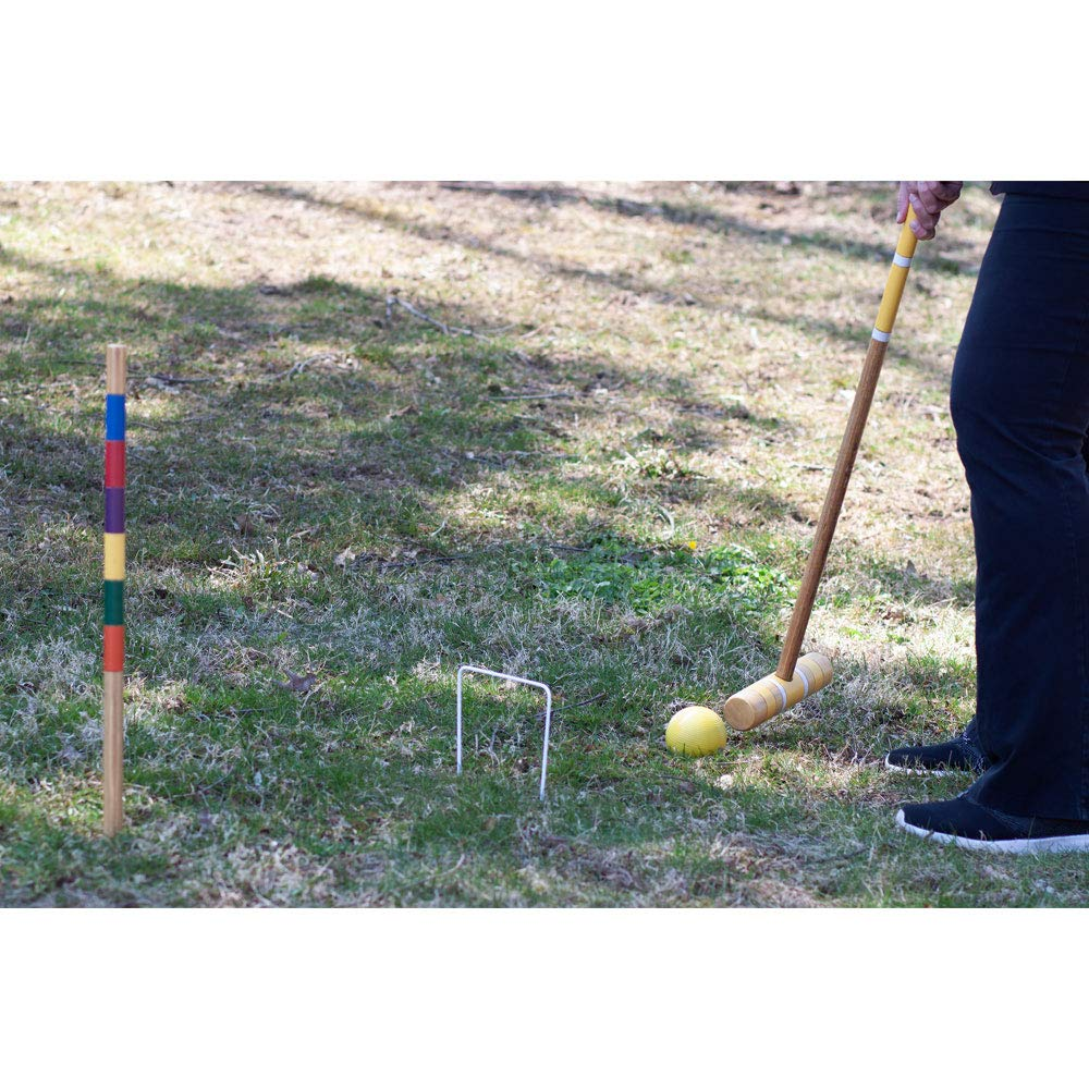 GSE Games & Sports Expert Premium 6-Player Croquet Set for Adults & Kids (Several Styles Available) (Classic) by GSE Games & Sports Expert (Image #5)