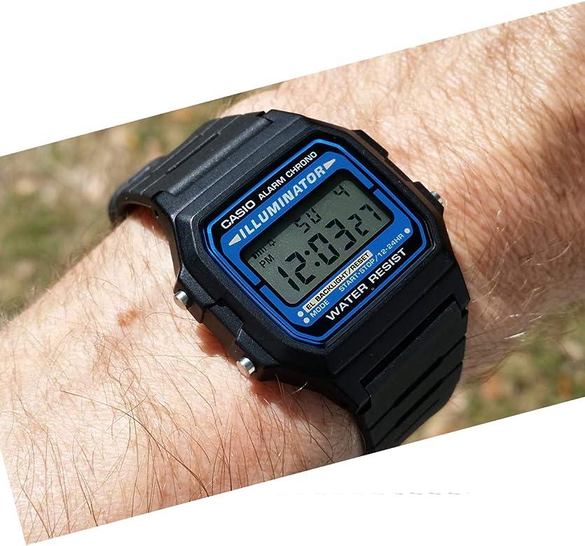 huge discount fe827 14008 Casio F105W-1A Casio Illuminator Watch - Amazon Mỹ | Fado.vn