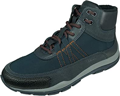 Leeds Frenesí Confesión  Geox Mujer Botas KANDER, señora Botas con Cordones,Removable Insole:  Amazon.es: Zapatos y complementos