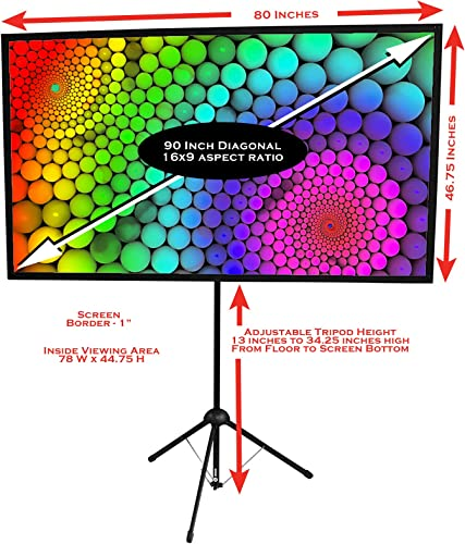 GO-90 Portable Projector Screen review