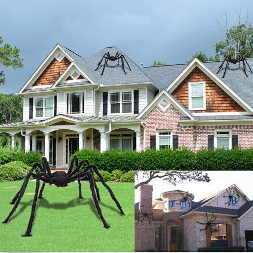 Amazon Com Halloween Spider Decorations Large Fake Hairy