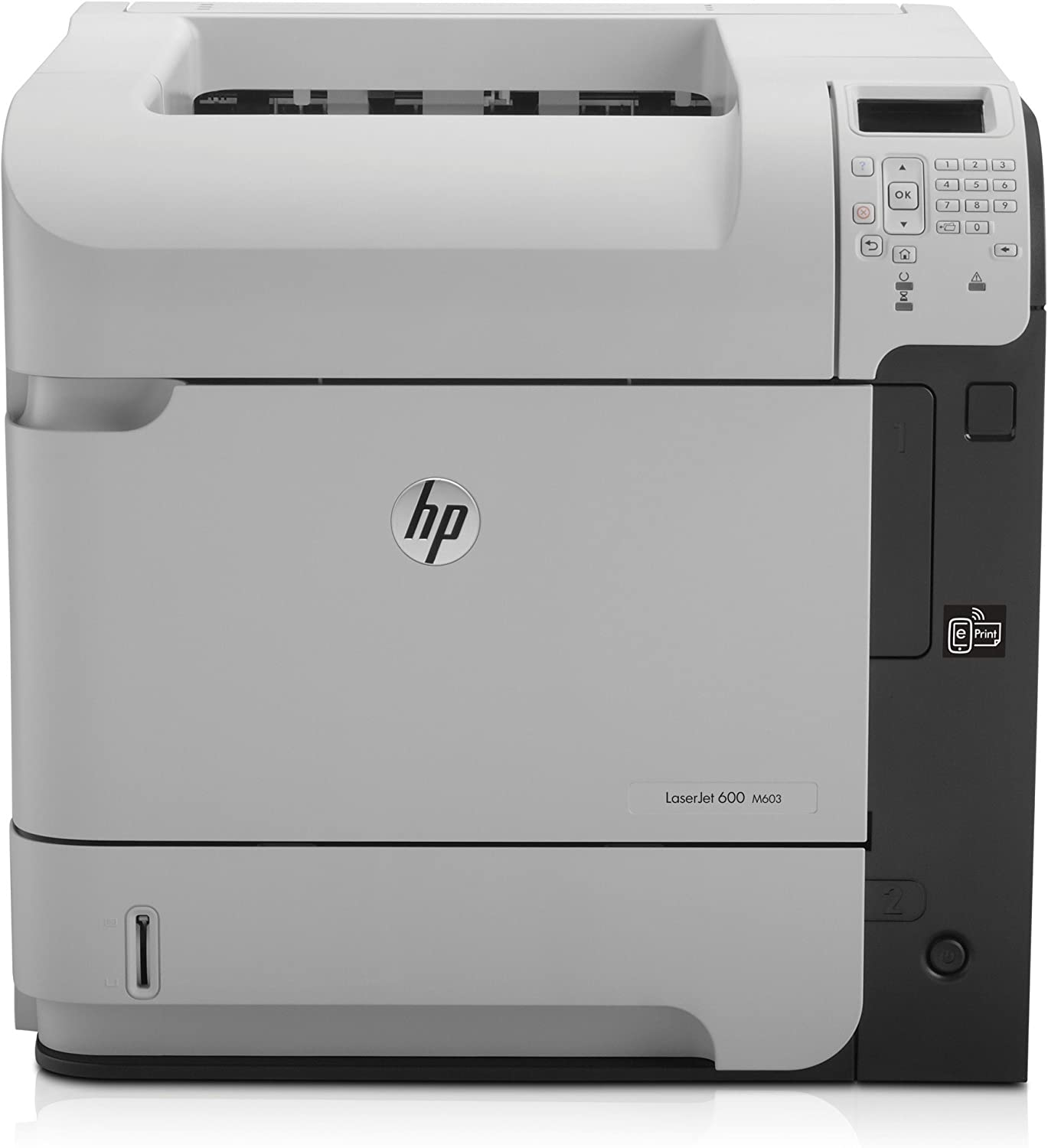 HP Laserjet Ent 600 M601N Printer (Renewed)