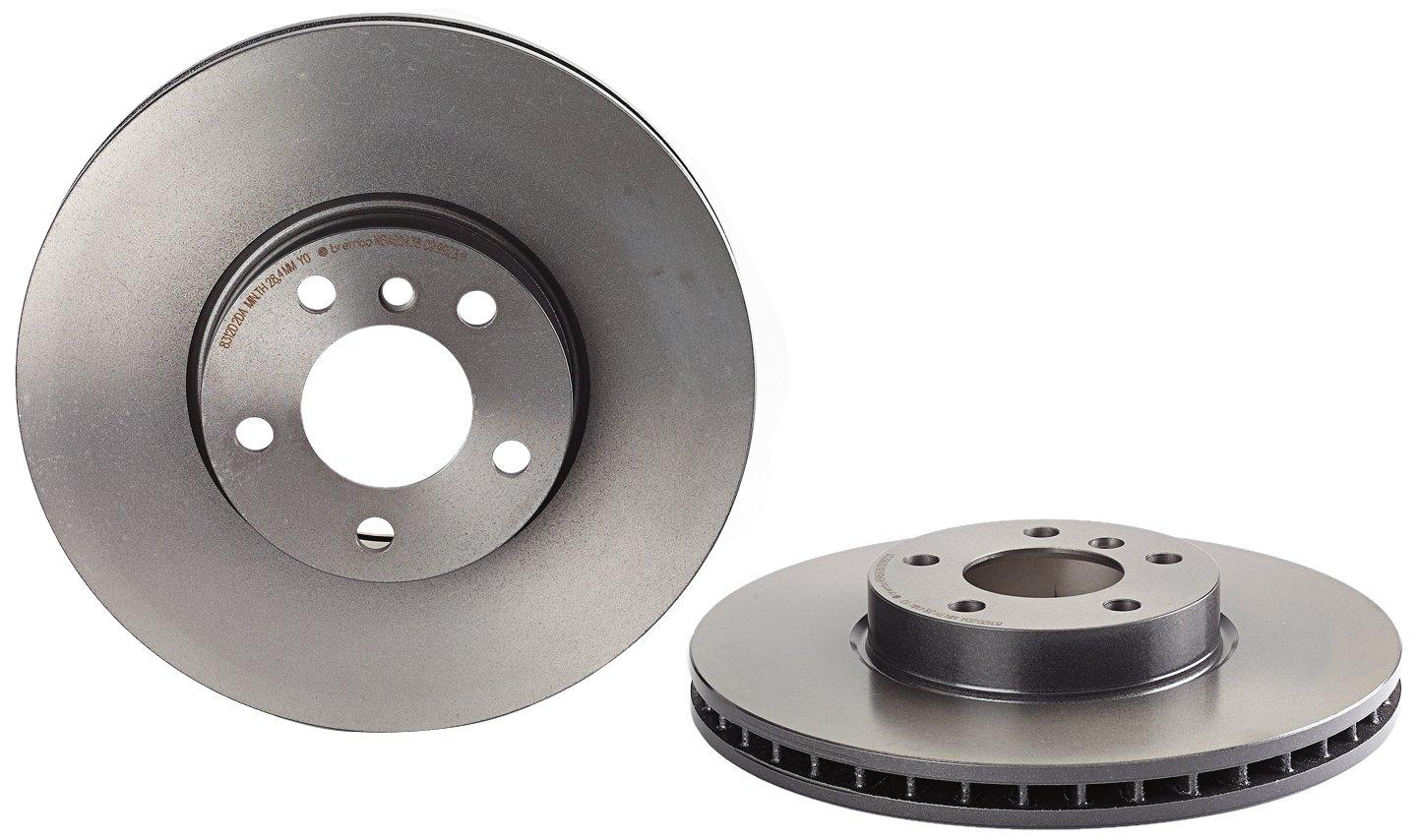 Brembo 09.9923.11 UV Coated Front Disc Brake Rotor