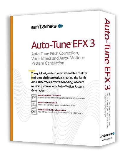 Amazon com: Antares Audio 21003 Auto-Tune EFX 3 Vocal