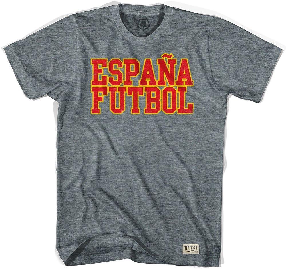 Ultras España Espana Futbol nación Camiseta de fútbol: Amazon.es ...
