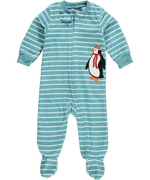 081c8cbdff43 Amazon.com  Carter s Sleep  N  Play Fleece Footie (Baby) - Penguin-3 ...
