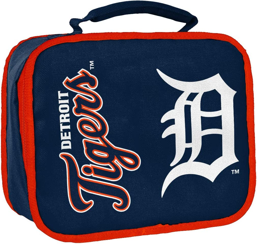 """Officially Licensed MLB Insulated Travel Sacked Lunchbox, Lunchboxes, 10.5"""" x 4"""" x 8.5"""""""