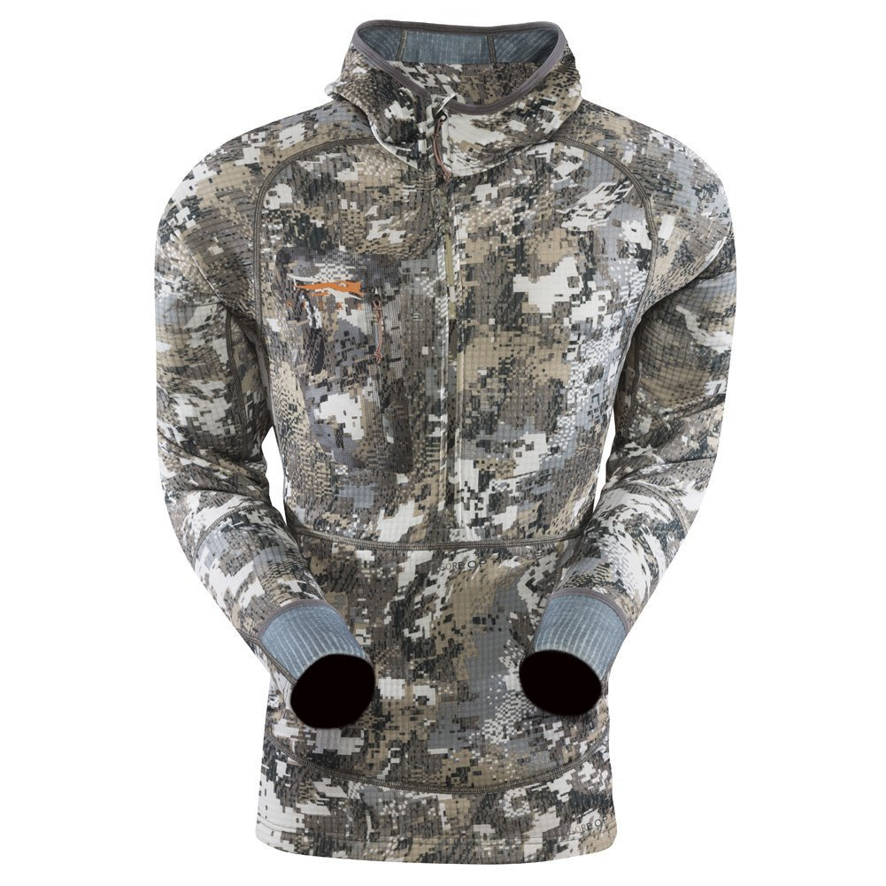 Sitka Gear Fanatic Hoody, Optifade Elevated II, 3XL - 70004-EV-3XL