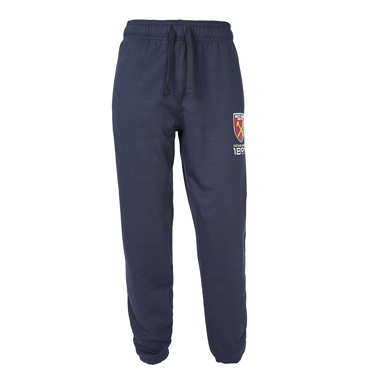 West Ham United FC Official Football Gift Mens Fleece Joggers Jog Pants