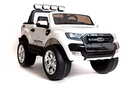 Coche eléctrico para niños Ford Ranger Wildtrak 4X4 LCD Luxury - 2.4Ghz, Pantalla LCD