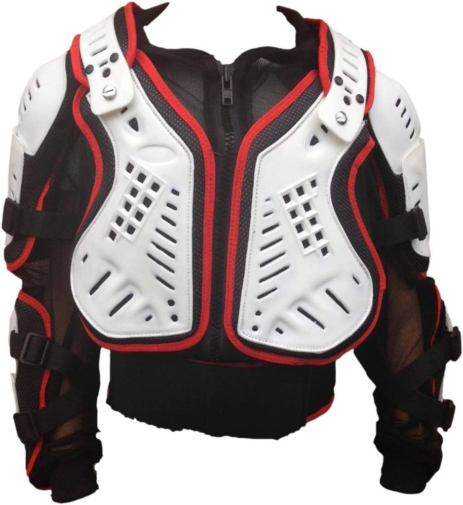 Noir 6 ann/ées//S Motos Enfants Armure XTRM Enfant Corps Armor Vest Nouveau Motocross Quad MX Courses Hors-Piste Professionnel de Protection ATV Sport CE approuver Armure