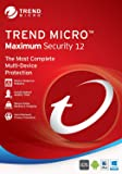 Trend Micro Maximum Security 12 (2019) 5 Devices 1 Year Subscription | PC/Mac | Media Download