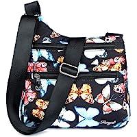 STUOYE Nylon Multi-Pocket Crossbody Purse Bags for Women Travel Shoulder Bag
