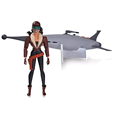 DC Collectibles Batman Animated Series: The New Batman Adventures: Roxy Rocket Deluxe Action Figure: Toys & Games