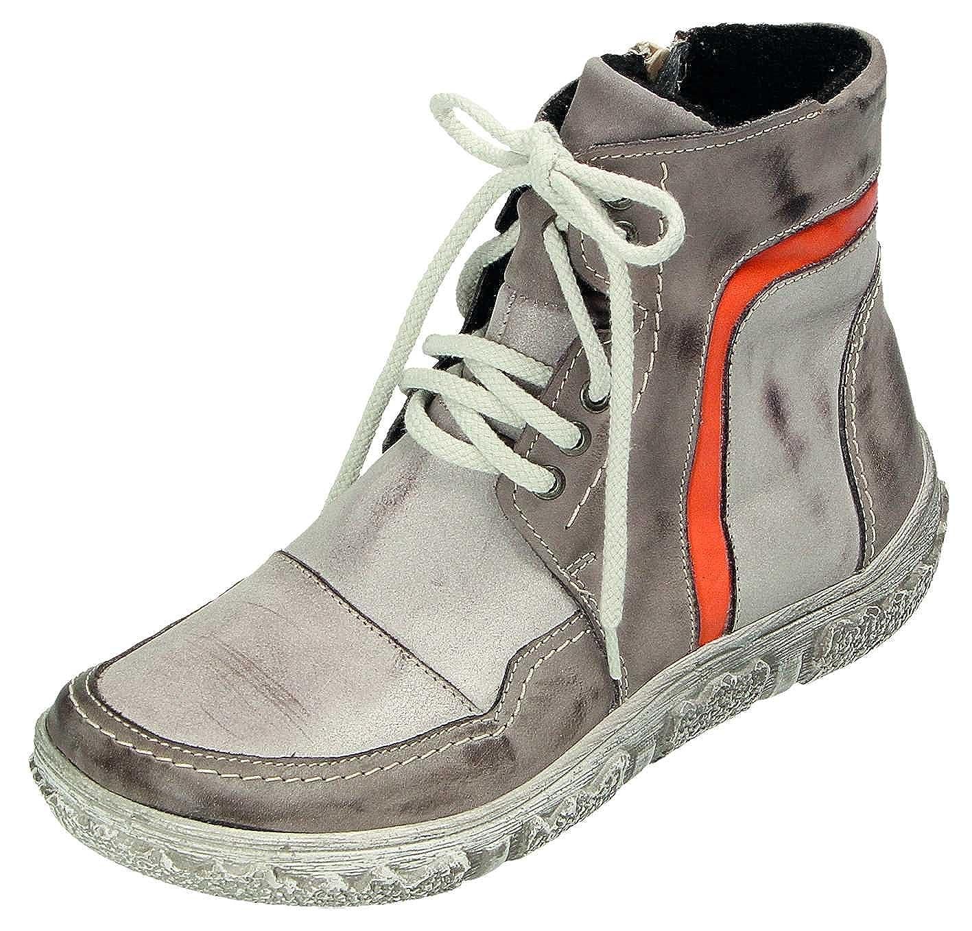 MICCOS grau/komb. Schuhes Stiefel D.RV-Stiefel grau/komb. MICCOS f6f932