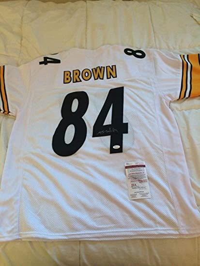 Image Unavailable. Image not available for. Color  Antonio Brown  Autographed Signed Jersey ... 831eba69f