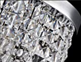 Surpars House Flush Mount 1-Light Crystal