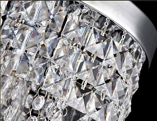Plafoniera Per Sala Da Pranzo : Dellemade lampadario di cristallo in stile minimalista moderna