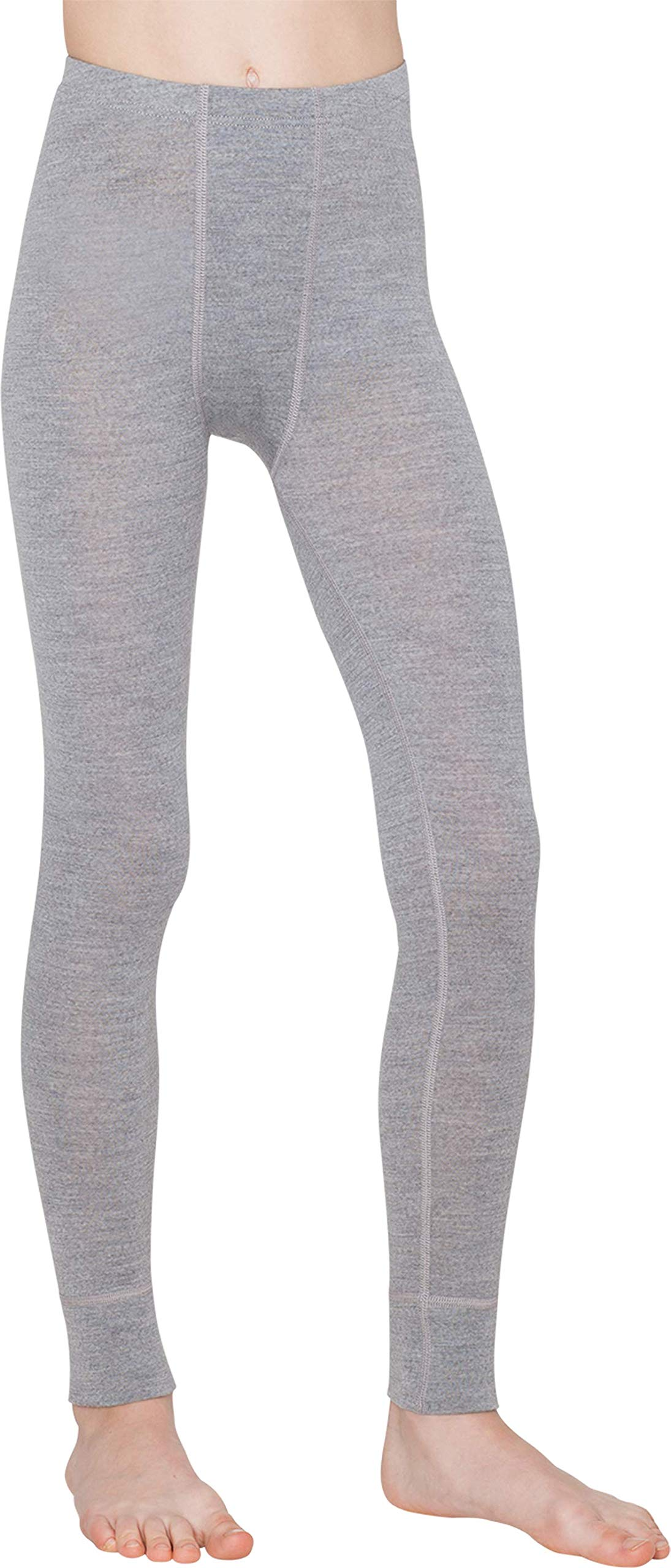 Thermowave - Merino Warm/Junior Merino Wool Pants/Silver Melange - from 4' 4'' to 4' 6'' by Thermowave