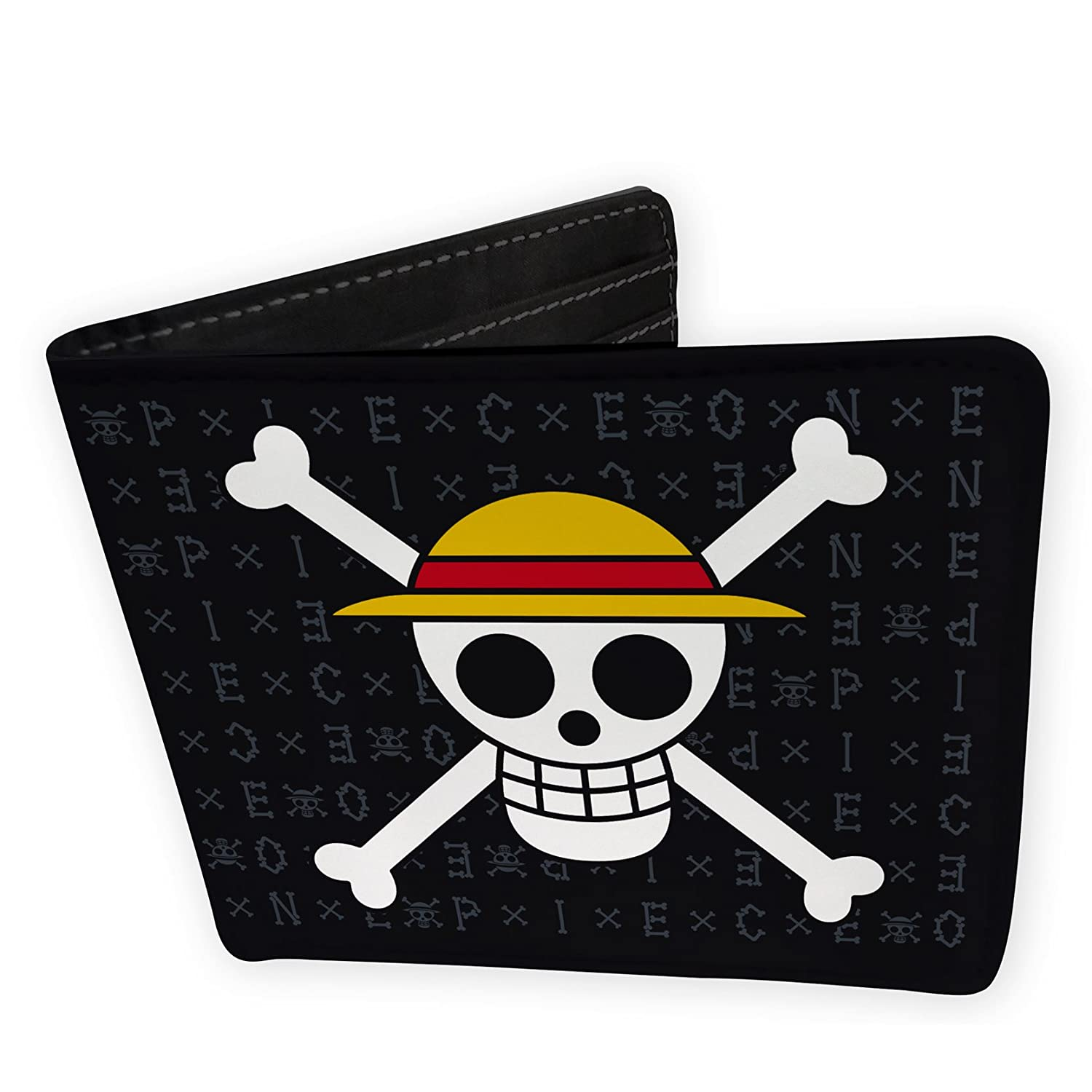 ABYstyle ONE Piece Wallet Keyring Skull Luffy Gift Box
