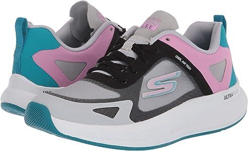 Skechers GO Run Pulse, Zapatillas para Mujer, Blanco Blanco Textil ...