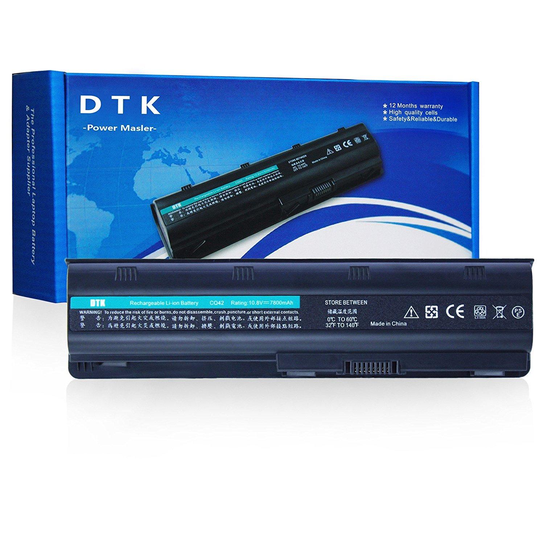 Dtk Batería de Repuesto para Portátil Hp G32 G42 G62 G4 G6 G7 ; Compaq Presario Cq32 Cq42 Cq43 Cq430 Cq56 Cq62 Cq72 ; Hp Pavilion Dm4 ;Fits Mu06 593553-001 ...