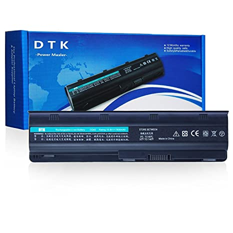 Dtk Batería de Repuesto para Portátil Hp G32 G42 G62 G4 G6 G7 ; Compaq Presario Cq32 ...