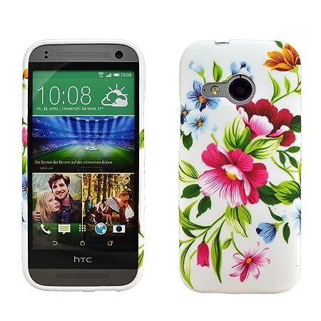 zkiosk® - Conjunto de 4 Carcasa de Silicona Funda HTC One M8 ...