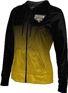 ProSphere Towson University Womens Zipper Hoodie School Spirit Sweatshirt Deco