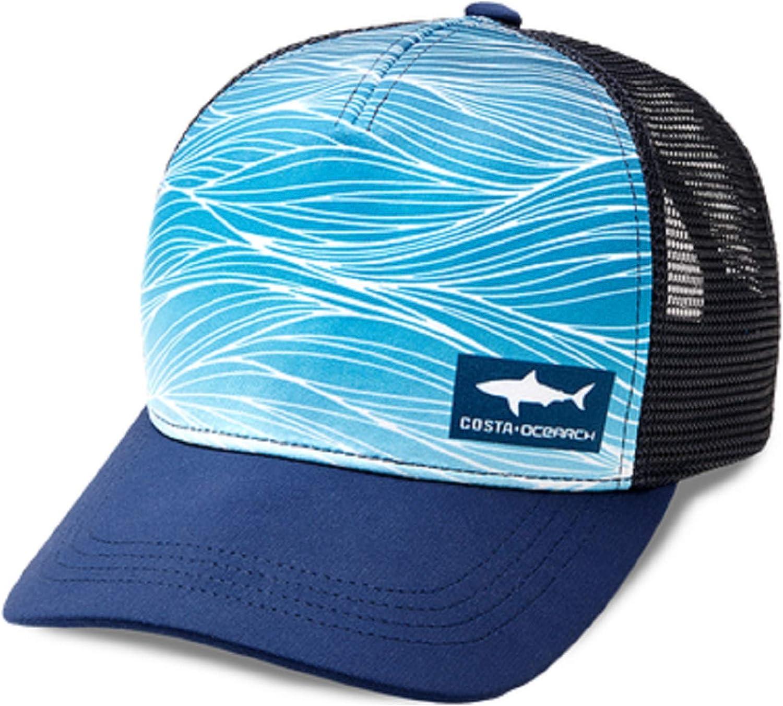 Costa Del Mar Ocearch Shark Wave Trucker Hat