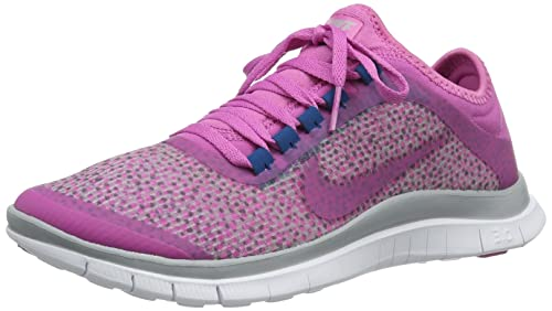 Nike Free 3.0 V5 Ext 579828 006 Damen niedrig Pink (Wolf