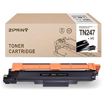 ZIPRINT Negro Toner MIT Chip Compatible Brother TN247 TN-247 para ...
